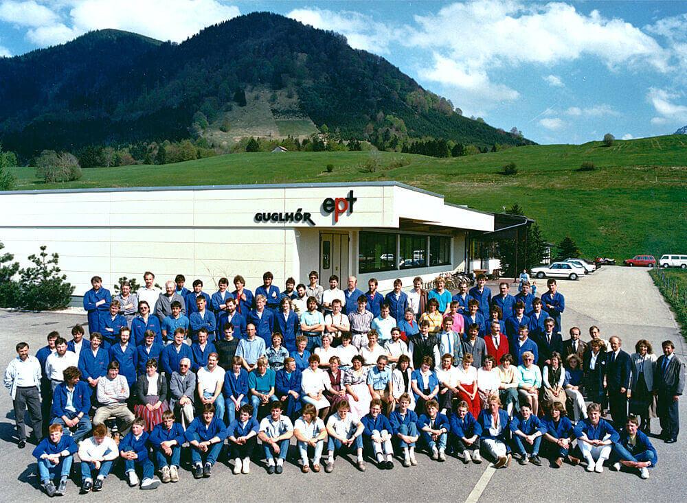 Geschichte Buching1987 Mitarbeiter