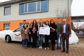 2000 Euros donated to St. Nikolaus Children's Hospice