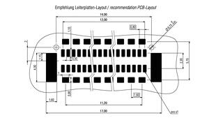 Dimensions Zero8 plug straight shielded 32 pins