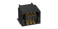 Photo Zero8 socket angled shielded 12 pins