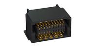 Photo Zero8 socket angled shielded 20 pins