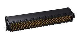 Photo Zero8 plug angled unshielded 80 pins