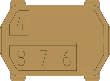 hm Kodiereinsatz ML 4678 Zeichnung